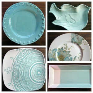 DecorativeDishes.net Aqua Decorator Plates .DecorativeDishes.net & Decorator Dish Collage Gallery