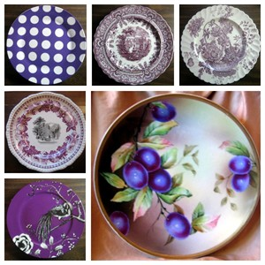 purple-decorator-plates-www.decorativedishes.net